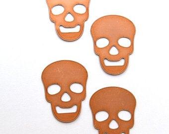 Skull copper blanks