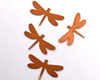 dragonfly copper blanks