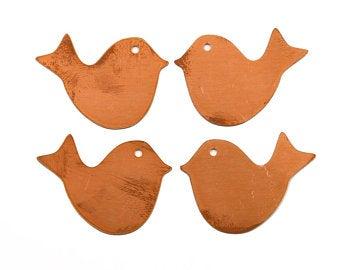 Bird copper blanks
