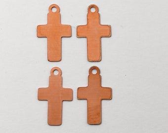 cross copper blanks