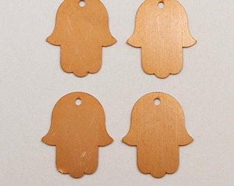 Hamsa copper blanks