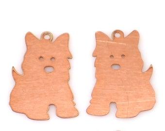 Dog Copper blanks