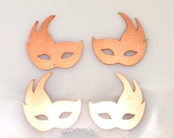 venetian mask copper blanks