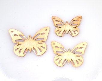 Butterfly copper blanks