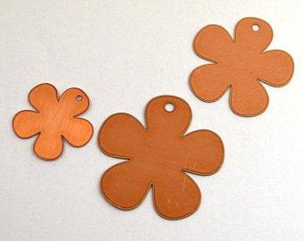 Flower copper blanks