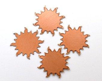 sun copper blanks