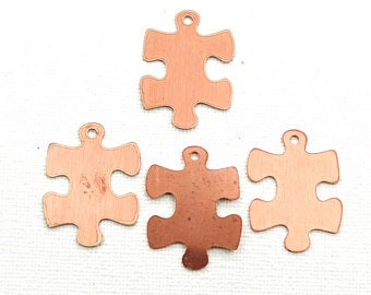 puzzle copper blanks