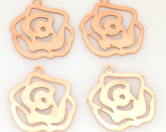 rose copper blanks